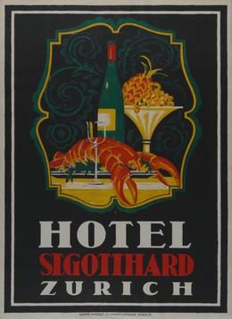 St. Gotthard Hotel Zurich, Otto Baumberger