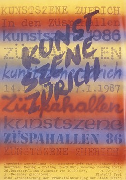 KUNSTSZENE ZÜRICH 1986, Monogram ASK