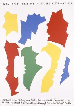 Jazz Posters by Niklaus Troxler – Reinhold Brown Gallery, Niklaus Troxler