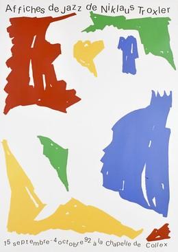 Affiches de jazz de Niklaus Troxler – Chapelle de Collex, Niklaus Troxler