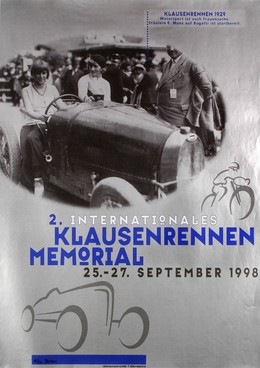 2. Internationales Klausen-Rennen -Memorial 1998, Heinz Baumann
