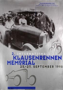 Memorial Klausen International Motor Car Race 1998, Heinz Baumann