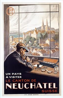 A pay to visit – Canton of Neuchâtel, Edouard Elzingre