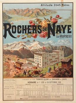ROCHERS DE NAYE – sur Montreux – Altitude 2045 Mètres, Anton Reckziegel