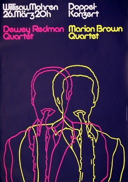 Jazz Willisau – Dewey Redman / Marion Brown, Niklaus Troxler