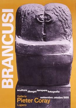 BRANCUSI – Galeria Pieter Coray, Lugano, Max Huber