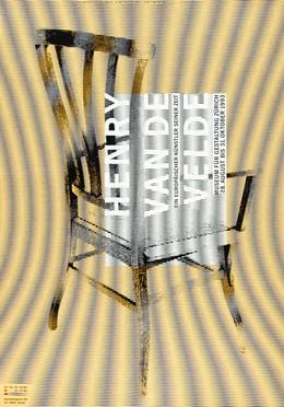 HENRY VAN DE VELDE – Ein Europäischer Künstler seiner Zeit – Museum für Gestaltung Zürich – 28. August bis 31. Oktober 1993, Ralph Schraivogel