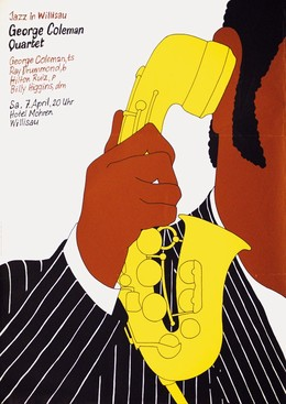 Jazz Willisau – George Coleman Quartet, Niklaus Troxler