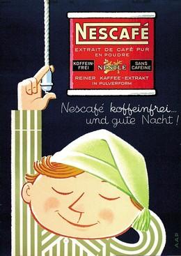 Nescafé – sans caféine et bonne nuit, Monogram AAP