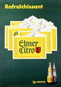 Elmer Citro – Rafraîchissant – La source, Artist unknown