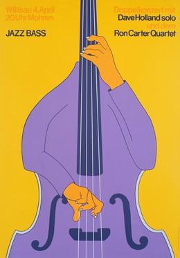 Jazz Willisau – Jazz Bass – Dave Holland / Ron Carter, Niklaus Troxler