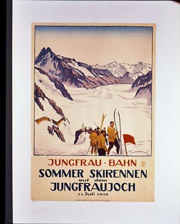 JUNGFRAU – BAHN SOMMER SKIRENNEN AUF DEM JUNGFRAUJOCH, Emil Cardinaux