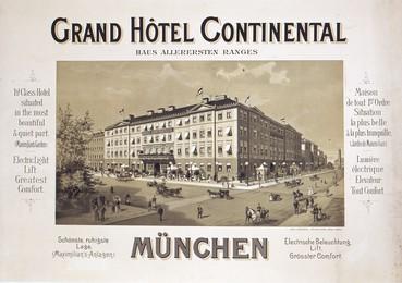 Munich Grand Hôtel Continental, Artist unknown