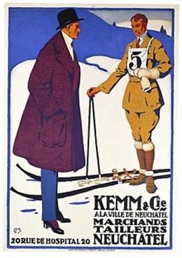 Kemm & Cie., Neuchâtel, Carl Franz Moos