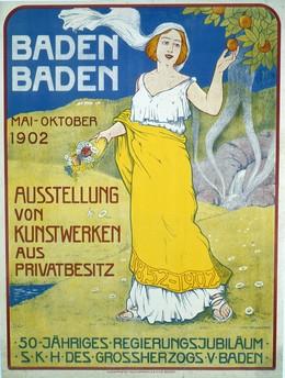 Ausstellung von Kunstwerken, Baden-Baden, Ivo Puhony