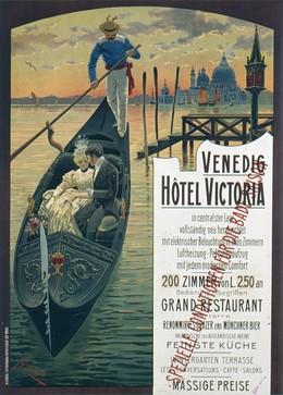 Venedig, Hôtel Victoria, S. Lugeno