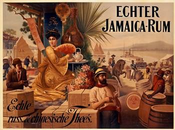 ECHTER JAMAICA RUM – echte russische & chinesische Thee's, Artist unknown
