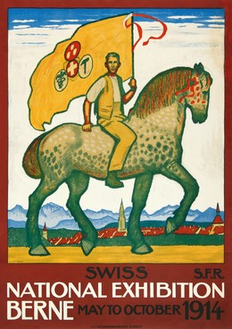Swiss National Exhibition Berne – May to October 1914, Emil Cardinaux