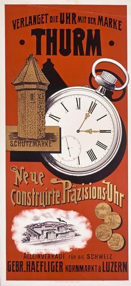 Thurm – Verlanget die Uhr mit der Marke, Artist unknown