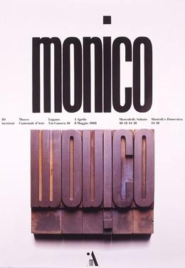 Museo Cantonale d'Arte Lugano – Monico, Bruno Monguzzi