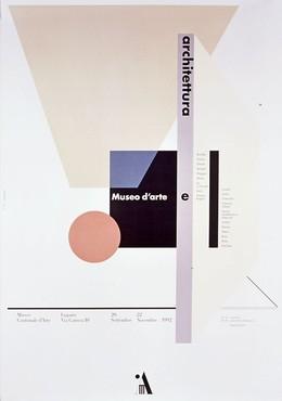 Museo Cantonale d'Arte Lugano – Museo d'Arte e Architettura, Bruno Monguzzi