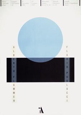 Museo Cantonale d'Arte Lugano – Alberto Flammer / Flavio Paolucci, Bruno Monguzzi