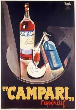Campari – The Aperitif, Marcello Nizzoli