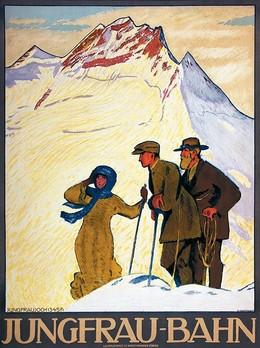 JUNGFRAU-BAHN – Jungfraujoch (3457), Emil Cardinaux