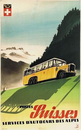 Postes Suisses – Services d'Autocars des Alpes, Bernhard Reber
