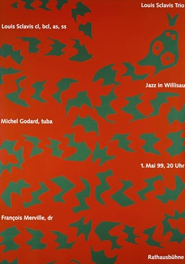 Jazz Willisau – Louis Sclavis, Niklaus Troxler