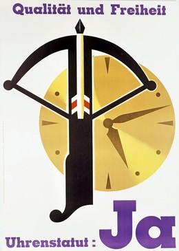 Uhrenstatut Ja – Qualität und Freiheit, Artist unknown