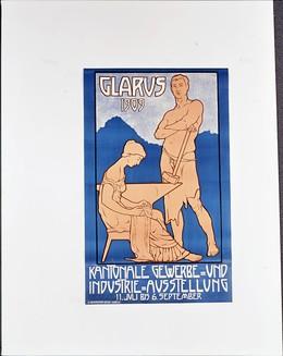 Kantonale Gewerbe- und Industrie-Ausstellung Glarus 11. Juli bis 6. September, Meyerhofer-Elmer