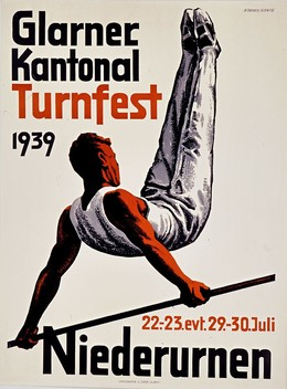 Glarner Kantonal Turnfest Niederurnen 1939, H. Annen