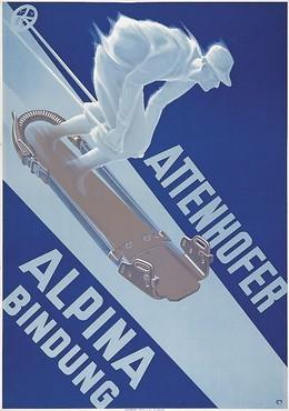 Attenhofer Ski Binding, Carl Franz Moos