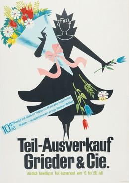 Teil-Ausverkauf Grieder & Cie., Fritz Butz