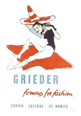 GRIEDER – famous for fashion – ZURICH LUCERNE ST. MORITZ, Clerc