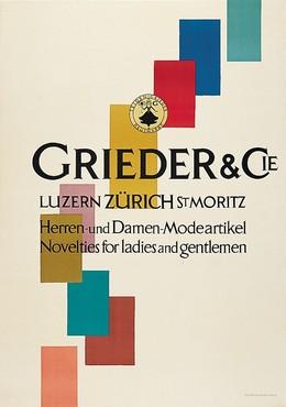 GRIEDER & CIE. LUZERN ZURICH ST. MORITZ, E. Schlupp