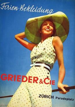 Ferien-Bekleidung – GRIEDER & CIE. ZURICH Paradeplatz, Steiner/Heiniger