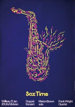 Jazz Willisau – Sax Time, Niklaus Troxler