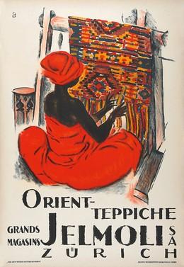 Jelmoli Zurich – Oriental Carpets, Otto Baumberger