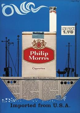 Philip Morris – imported from U.S.A., Edgar Küng