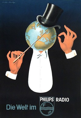 Die Welt im PHILIPS RADIO, Viktor Rutz