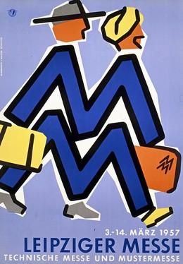LEIPZIGER MESSE – TECHNISCHE MESSE UND MUSTERMESSE 1957, Schultze Margarete & Walter