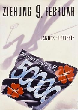 Landes Lotterie – Ziehung 50.000 – 9. Februar, Walter Sigg