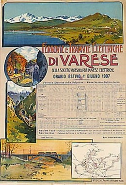 Ferrovie e Tramvie Eletriche di Varese, Artist unknown