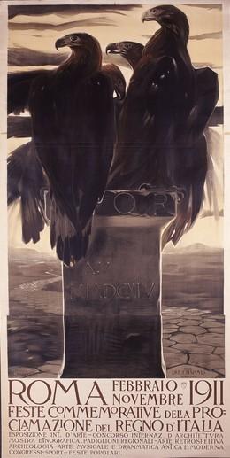 ROMA Febbraio – Novembre 1911, Duilio Cambellotti
