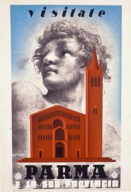 Visitate Parma e la sua Provincia, Carlo Mattioli