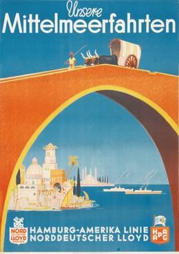 Mittelmeerfahrten – Hapag – Lloyd, Albert Füss