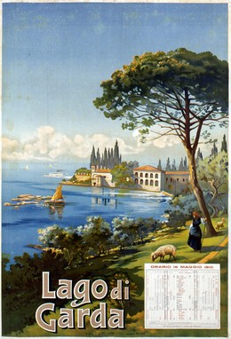 LAGO di GARDA, Artist unknown