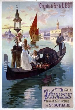 Chemin de Fer de L'Est – Paris – Venise – Belfort – Bâle – Lucerne – le St. Gothard, Hugo F. D'Alési